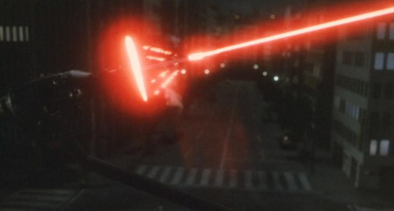メーサー砲攻撃1