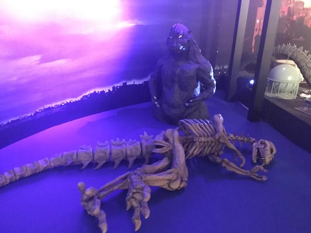 特撮のDNA-ゴジラの骨